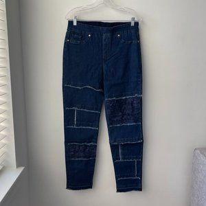 Masseys Distressed Studded Cutoff Jeans